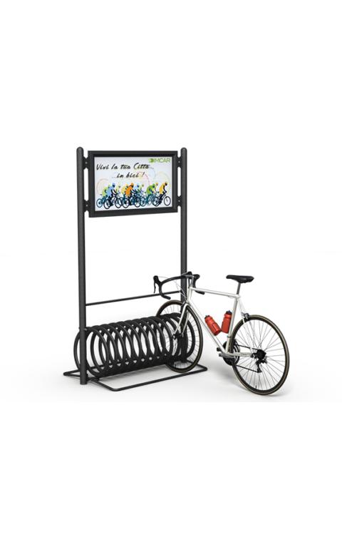 Μπάρα στάθμευσης ποδηλάτου ELIX-D