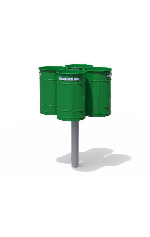 Καλάθι ανακύκλωσης POLIS QUADRUPLE