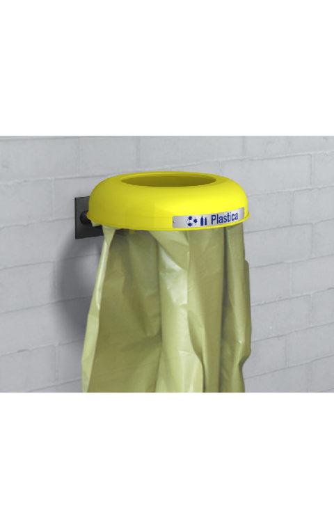 Καλάθι ανακύκλωσης CLEAN CON FISSAGGIO A MURO
